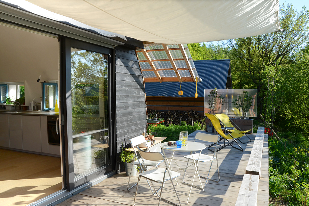 HVL terrasse table net