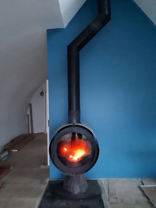 feu pav bleu